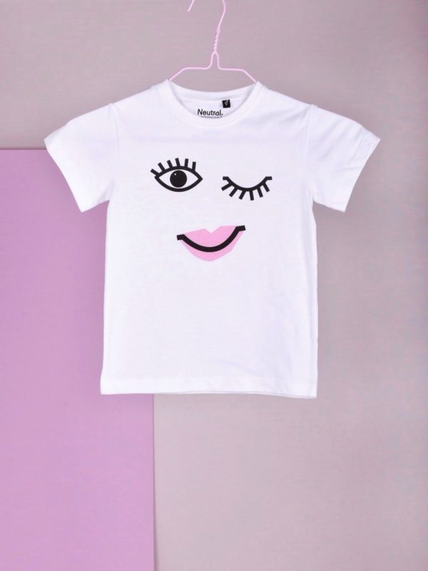 Miss Perfect statement kids T-shirt
