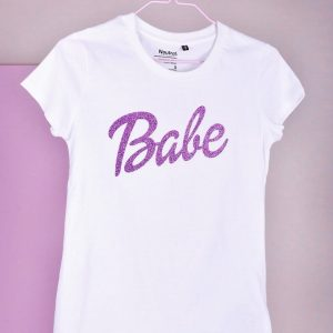 la Label sustainable Babe T-shirt