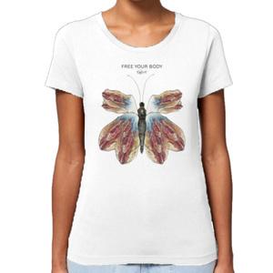 butterfly custom T